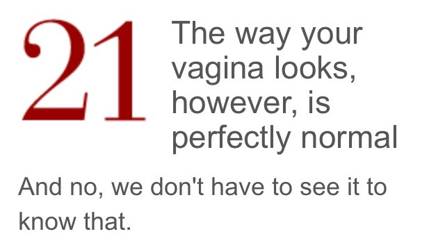 Things i should know about sex