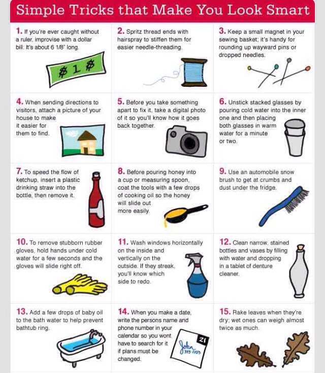 30 Simple Awesome Tips In Life