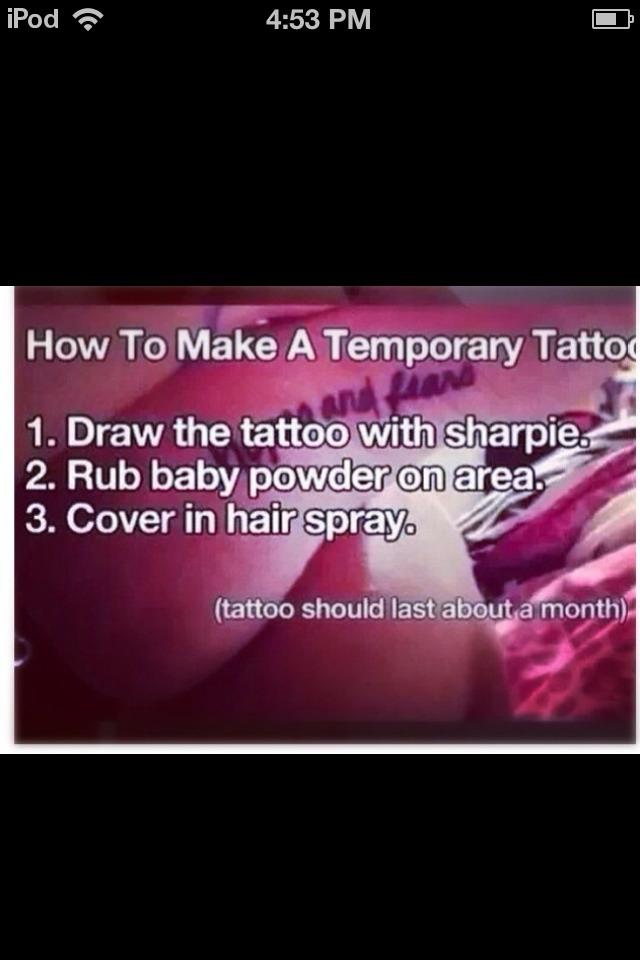 How To Make A Temporary Tattoo 💕 Trusper