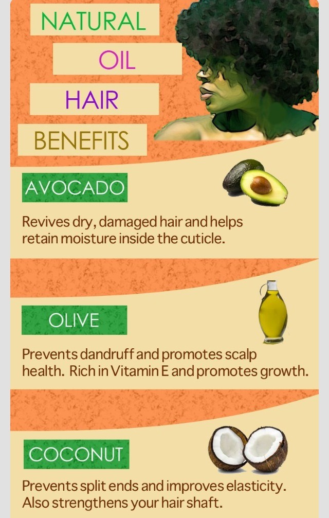 Natural Oil Hair Benefits! #tipit