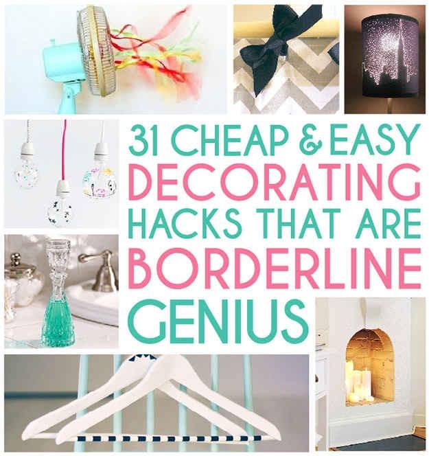 31 Home Decor Hacks That Are Borderline Genius Trusper