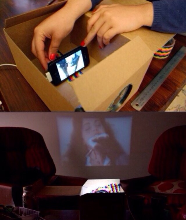 The Perfect DIY Phone Projector 😍🙌