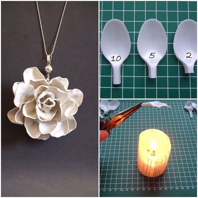 Awesome DIYs Using Plastic Spoons. 😍