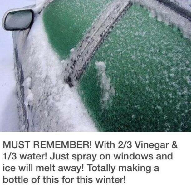Winter Is Coming ... De-Ice Your Windows In Seconds Without An ice Scraper!!!!!!!