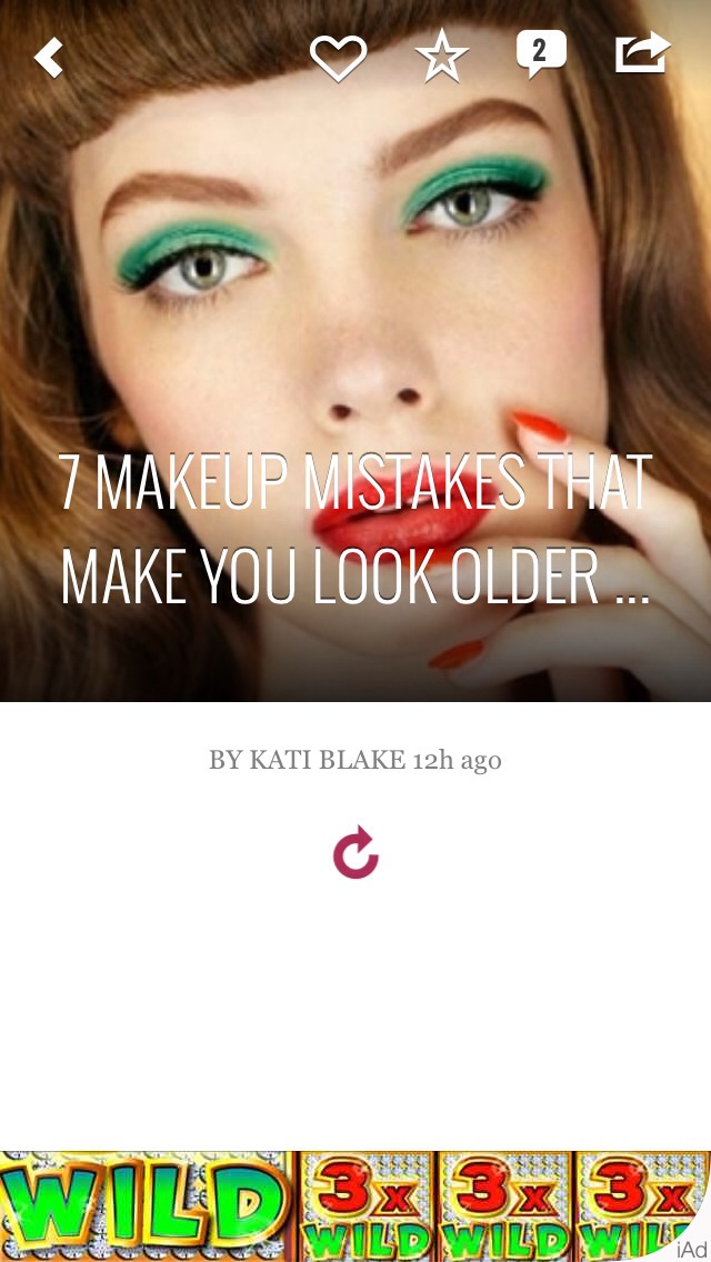 Makeup- Mistakes That Make You Look Older
