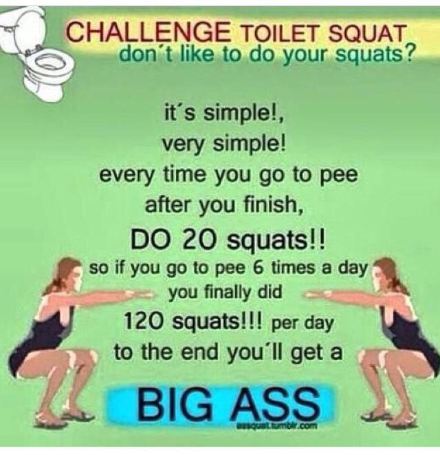 Big ass challenge