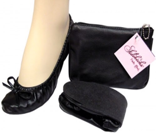 Woman on the go save your feet from heels with these comfy flats