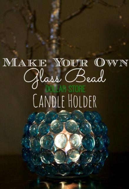 DIY Dollar Store Crafts: Glass Bead Vase