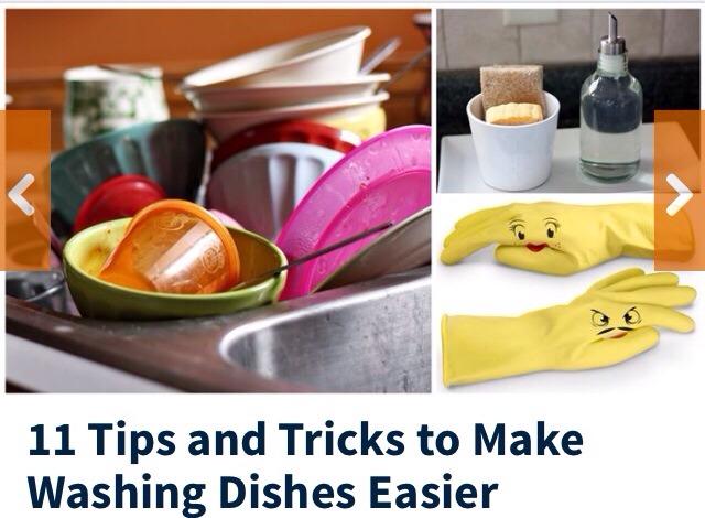 Tips and tricks to make washing dishes easier trusper - Dish washing tips ...
