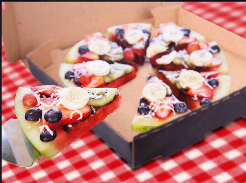 Great Summer Snack 'Fruit Pizza'