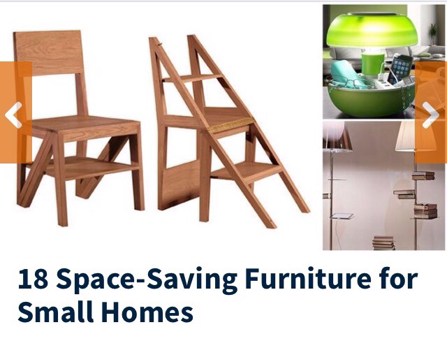 18 space saving furniture for small homes trusper - Recliner for small spaces property ...