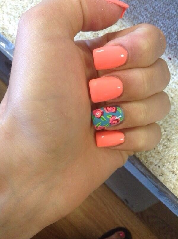 Cute Nail Designs For Spring Break Super Cute Nails For This