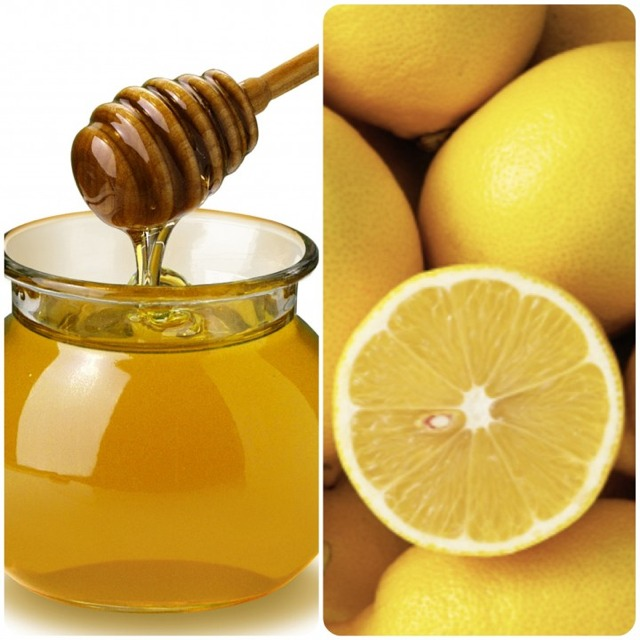 Drinking Hot Water, NATURAL LOCAL HONEY W/ Lemon, Helps Clear Sinuses!