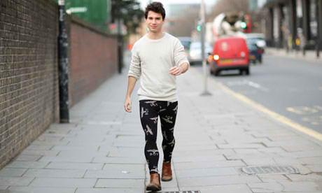 Would You Let Your Boyfriend/husband Wear Man Leggings Or Meggings?