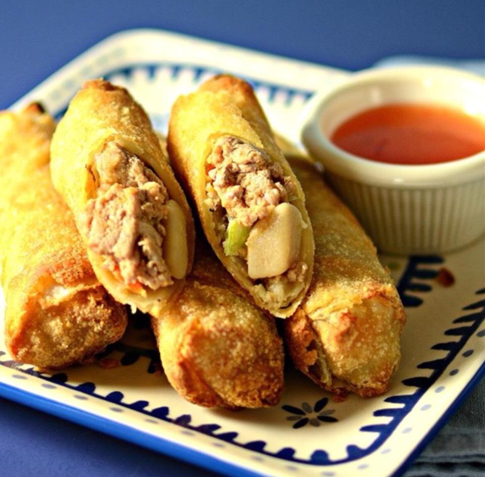 Potatoes Lumpia Recipe--> More American Version Of Filipino Egg Rolls ...