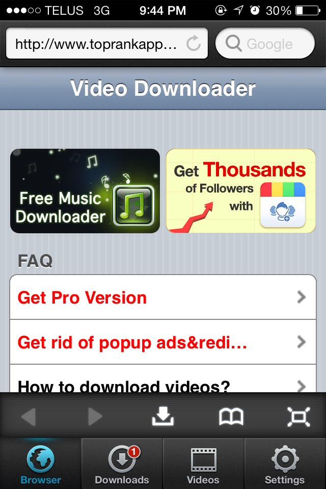how to download movies free on ipad mini