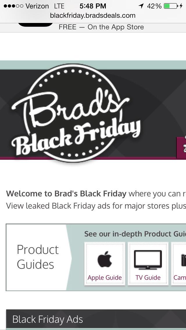 black friday ads bradsdeals
