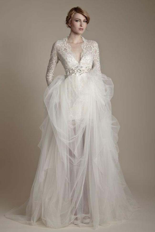 Winter wonderland wedding dresses trusper for Winter wedding party dresses