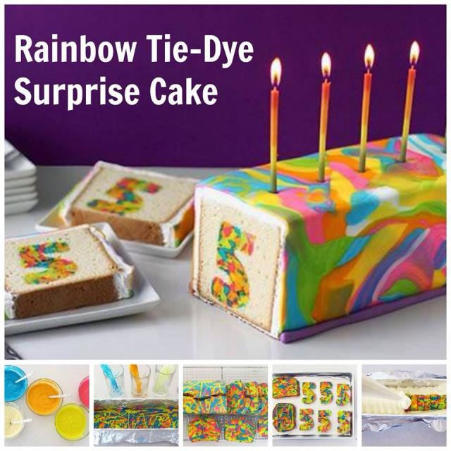 how to make an awesome tye dye cake that will impress