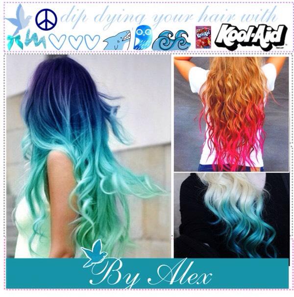 Diy Dye Ur Hair With Kool Aid😍😍😍😍 Trusper