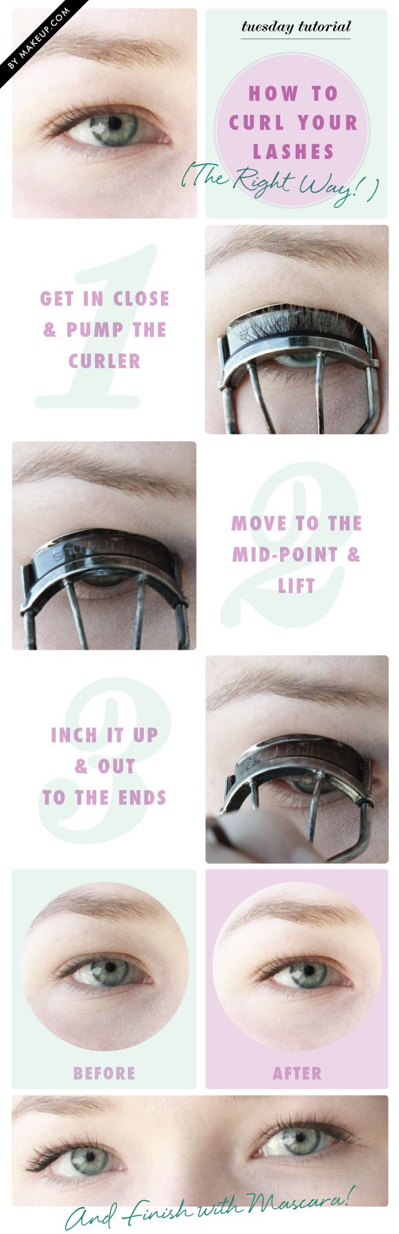 How To Curl For Perfect Eyelashes