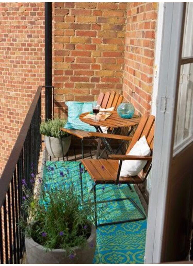 На балконе всегда будет приятнее, если под ногами красивый к.