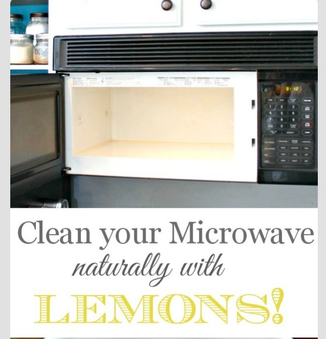 Clean Your Microwave The Natural Way !!