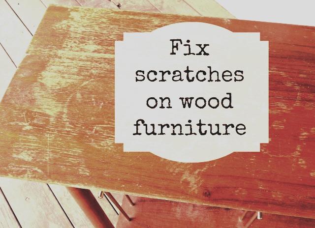 Diy Fix Scratches On Your Wood Furniture Trusper