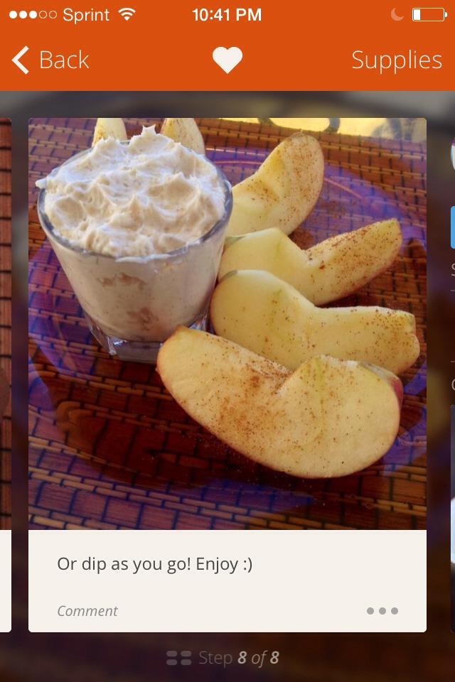 cream cheese brown sugar fruit dip