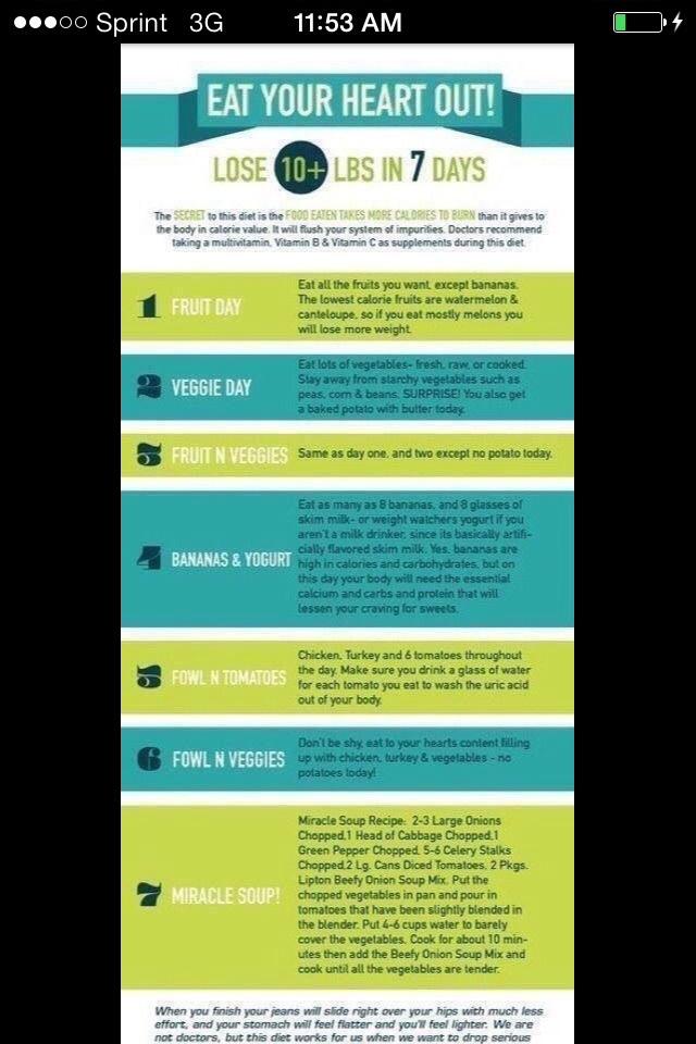 10 diet foods