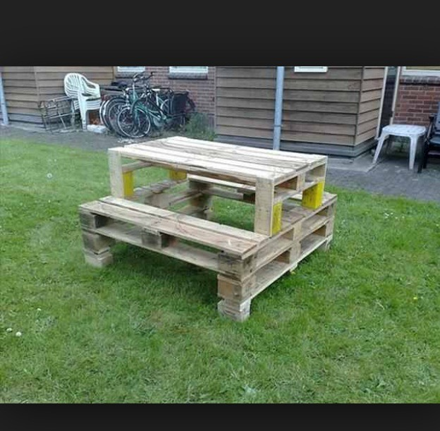 Cool Things You Can Do With Old Pallets