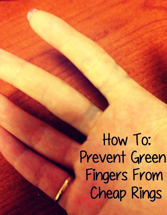How To Stop Your Jewellery Making You Go Green
