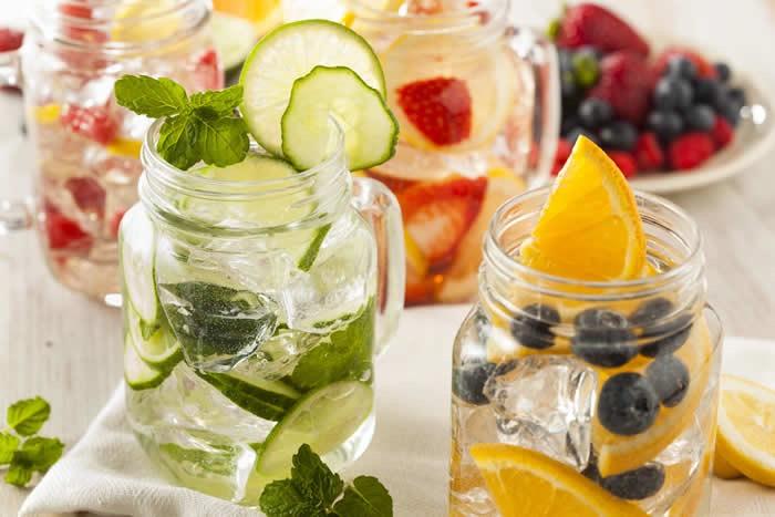 Detox Water Recipes🍓🍋 #tipit
