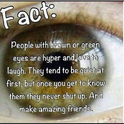 THE MEANING OF PEOPLE WITH BROWN OR GREEN EYES | Trusper