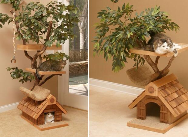 Best cat house trusper for Cat home decorations
