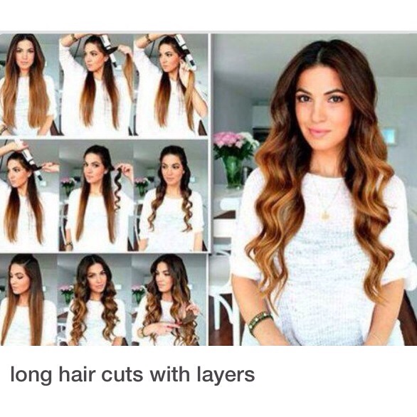 Steps For Beautiful Long Layer Curls Must See If You