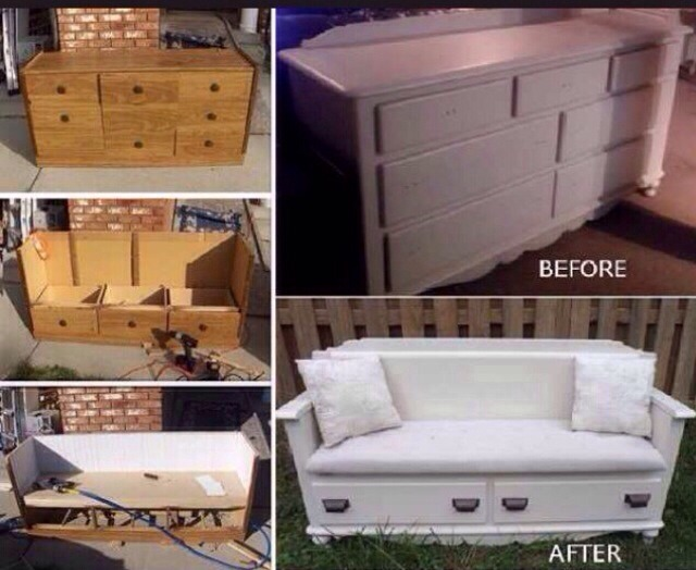 Cool Things You Can Do With Old Furniture 🙀
