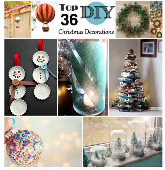 🎅Top 3⃣6⃣ Easy & Affordable DIY Christmas Decorations - LOVE!🎅