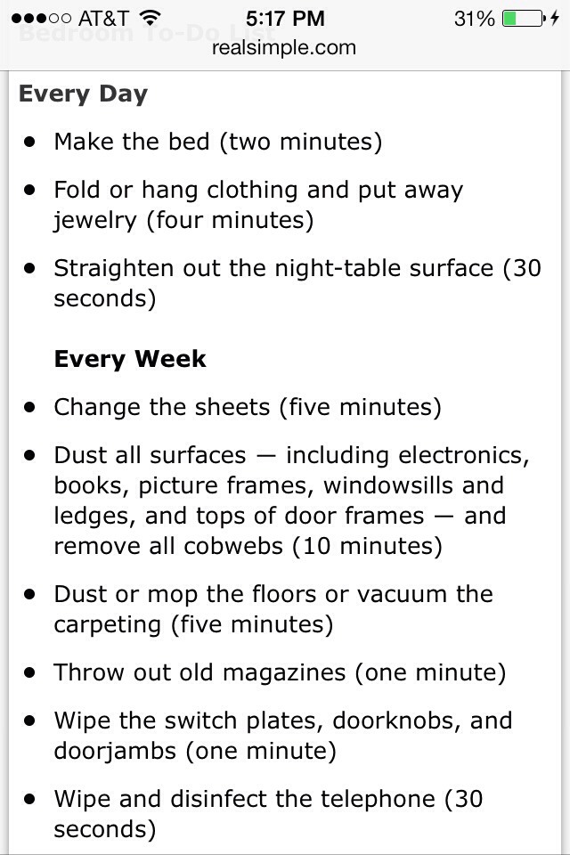 Good Way To Keep Your Room Clean And To Have To Do Less