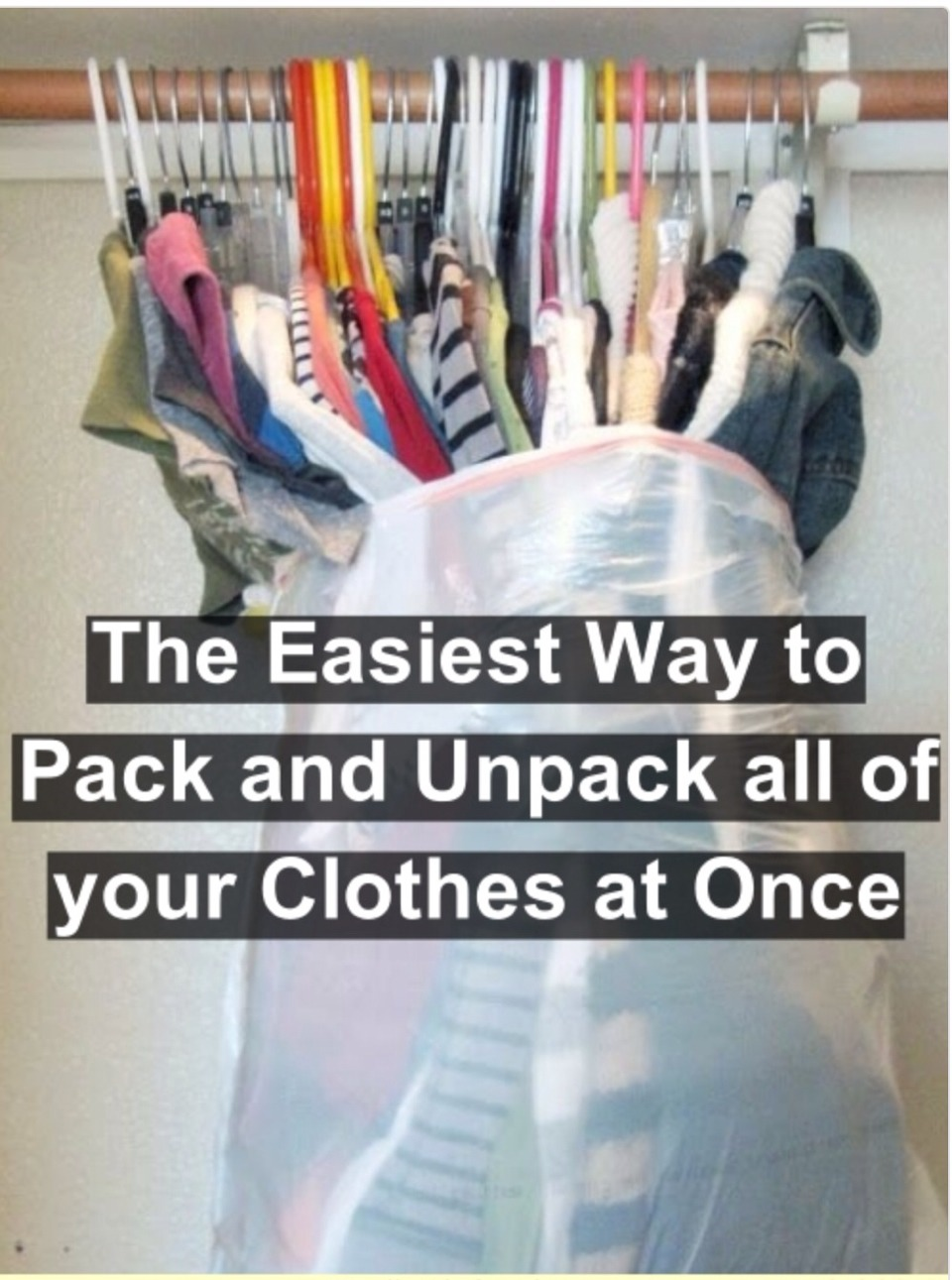 Moving Pack Your Clothes Easy With This One Swipe Method
