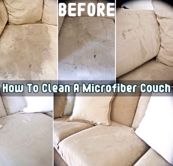 How To  Clean A Microfiber!