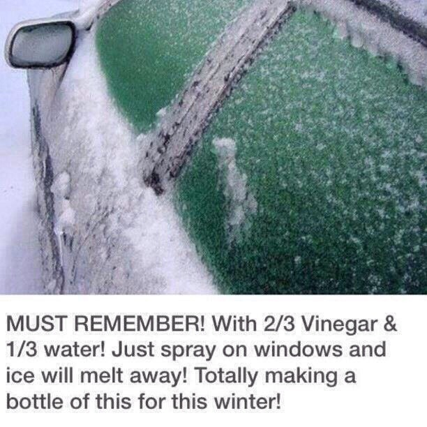 Takes Ice Off Your Car Window This Winter Quick & Easy