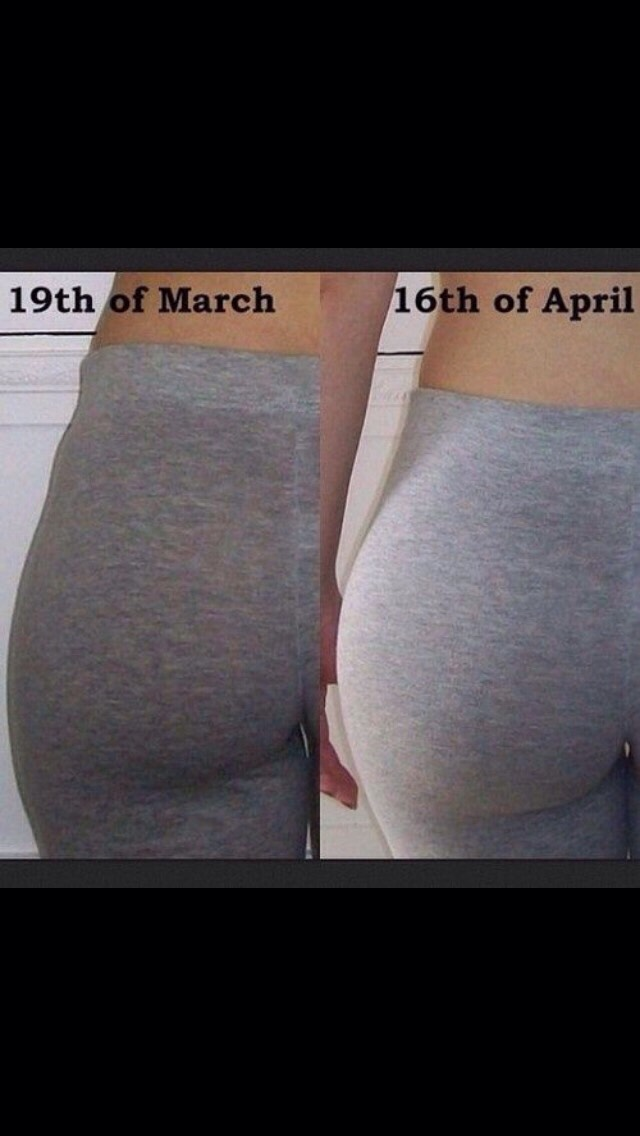 Get A Booty In One Month 🍑