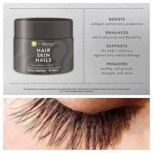 Hair, Skin, Nails by ItWorks! Will Help You Grow Nicer ...