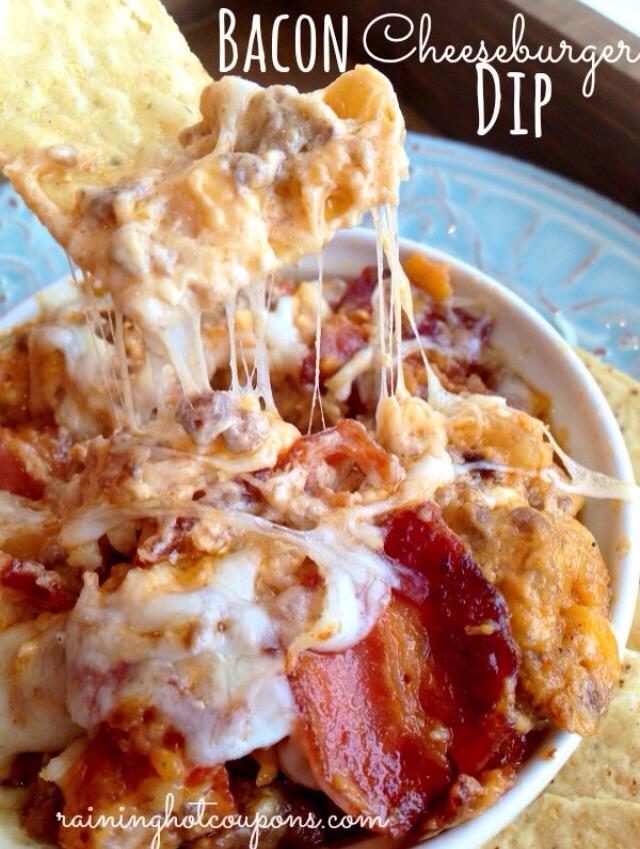 Bacon Cheeseburger Dip | Trusper