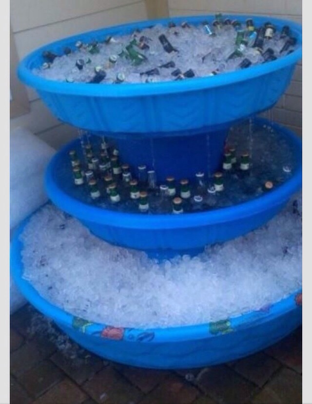 🌸🌼🌻DIY Ice Chest Fountain🌻🌼🌸