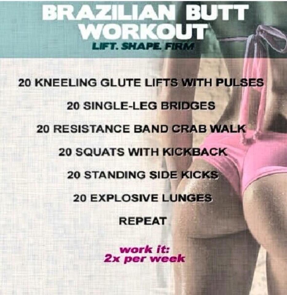 Brazillian Butt Workout 80