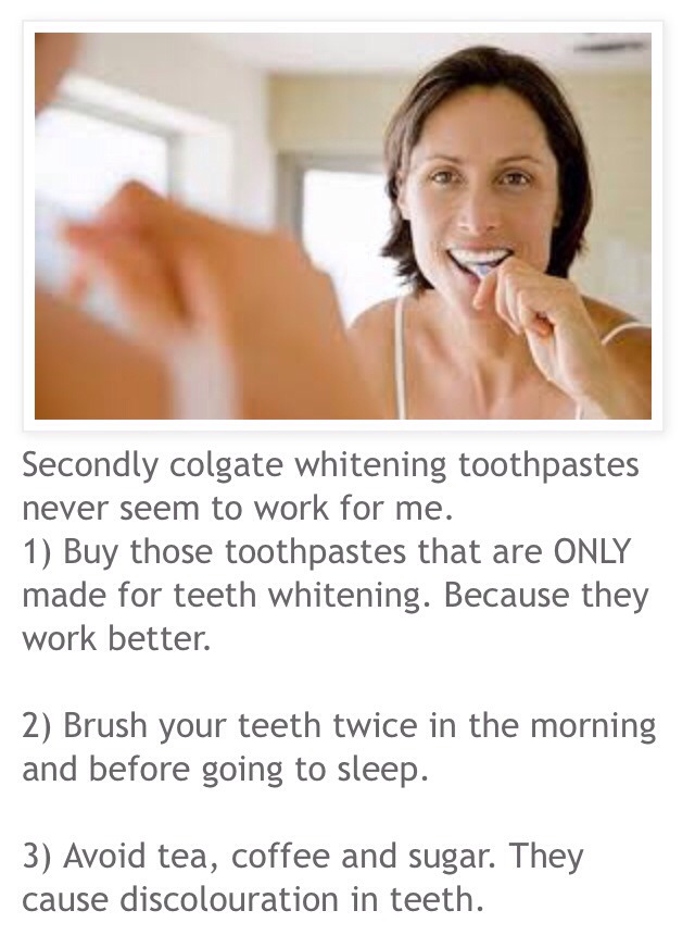 how to get your teeth white diy