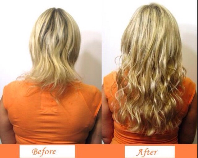 Microbead Weft Extensions 72