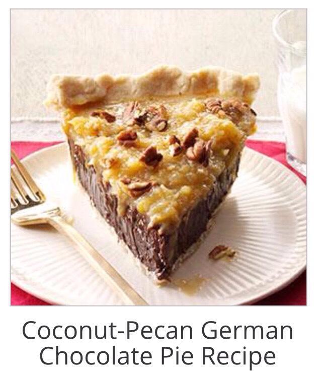 Coconut Pecan German Chocolate Pie Tipit Trusper